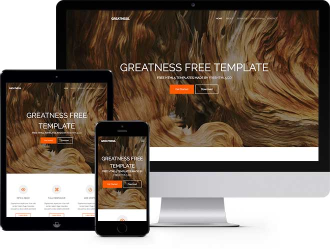 free multi-purpose bootstrap template