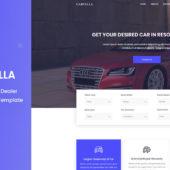 Carvilla – Car Dealer template