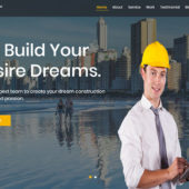 DreamBuilder – Construction Agency