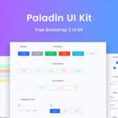 Paladin Bootstrap UI Kit