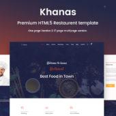 Khanas – Restaurant Template