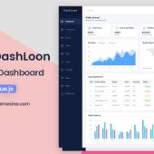 Vue Dashloon – VueJS Dashboard
